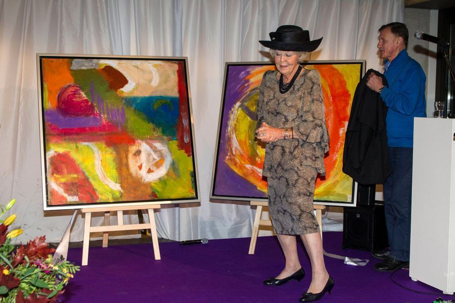 L'ex-reine Beatrix des Pays-Bas, le 29 octobre 2014