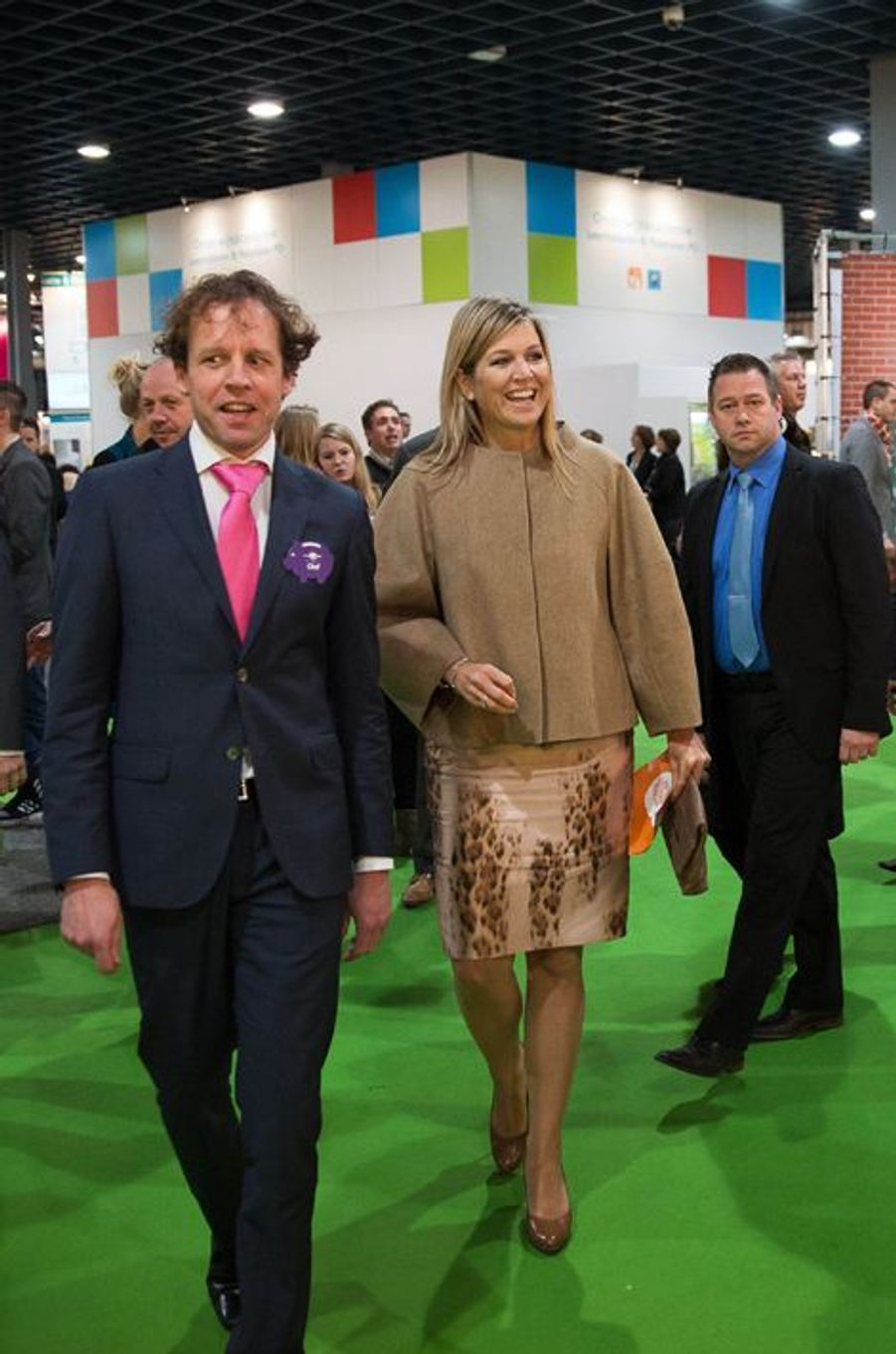 La reine Maxima des Pays-Bas, le 28 janvier 2015