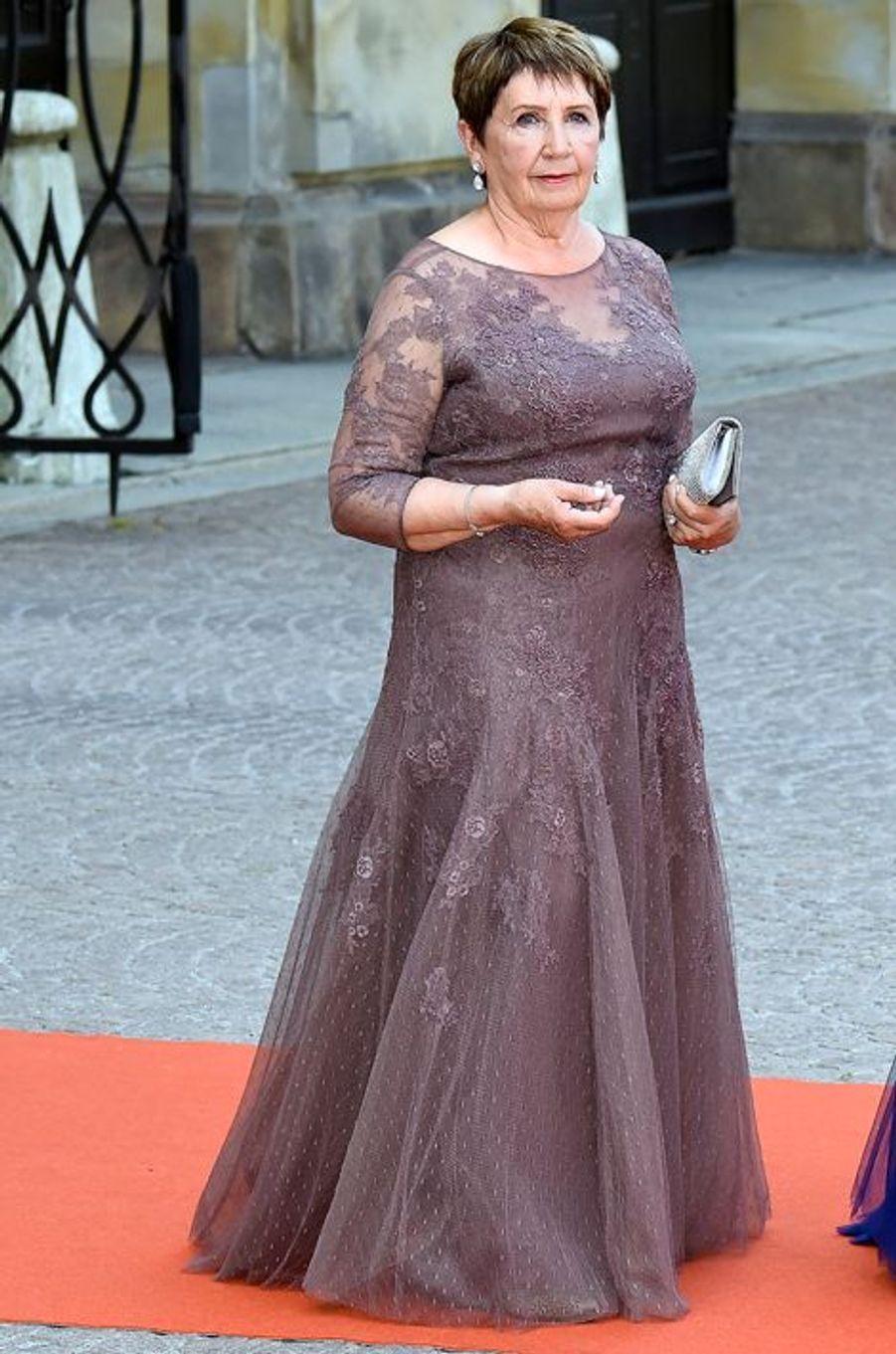 Britt Rotman , la grand-mère de Sofia Hellqvist, à Stockholm, le 13 juin 2015