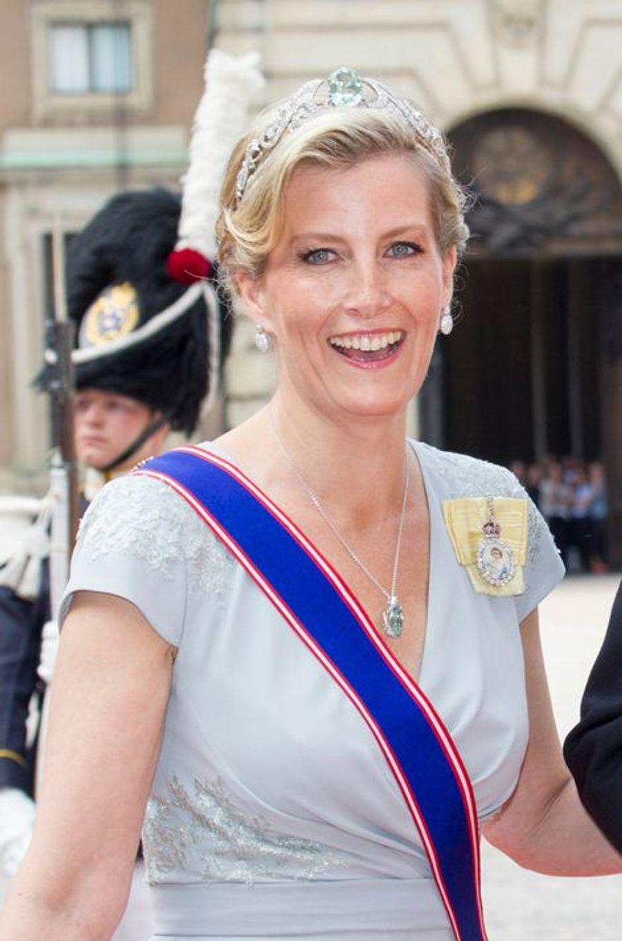 La comtesse Sophie de Wessex à Stockholm, le 13 juin 2015