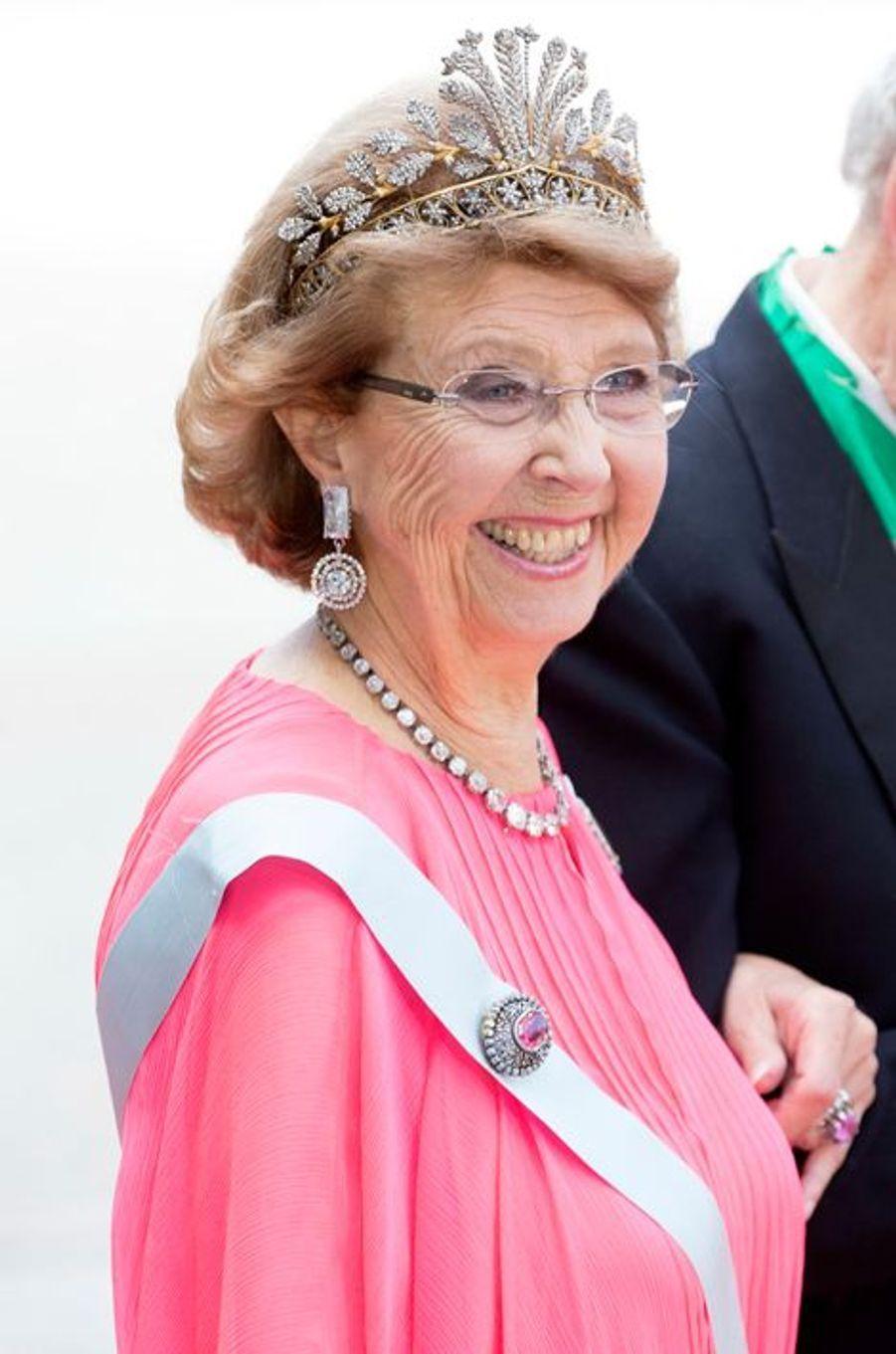 La princesse Desiree de Suède, à Stockholm le 13 juin 2015