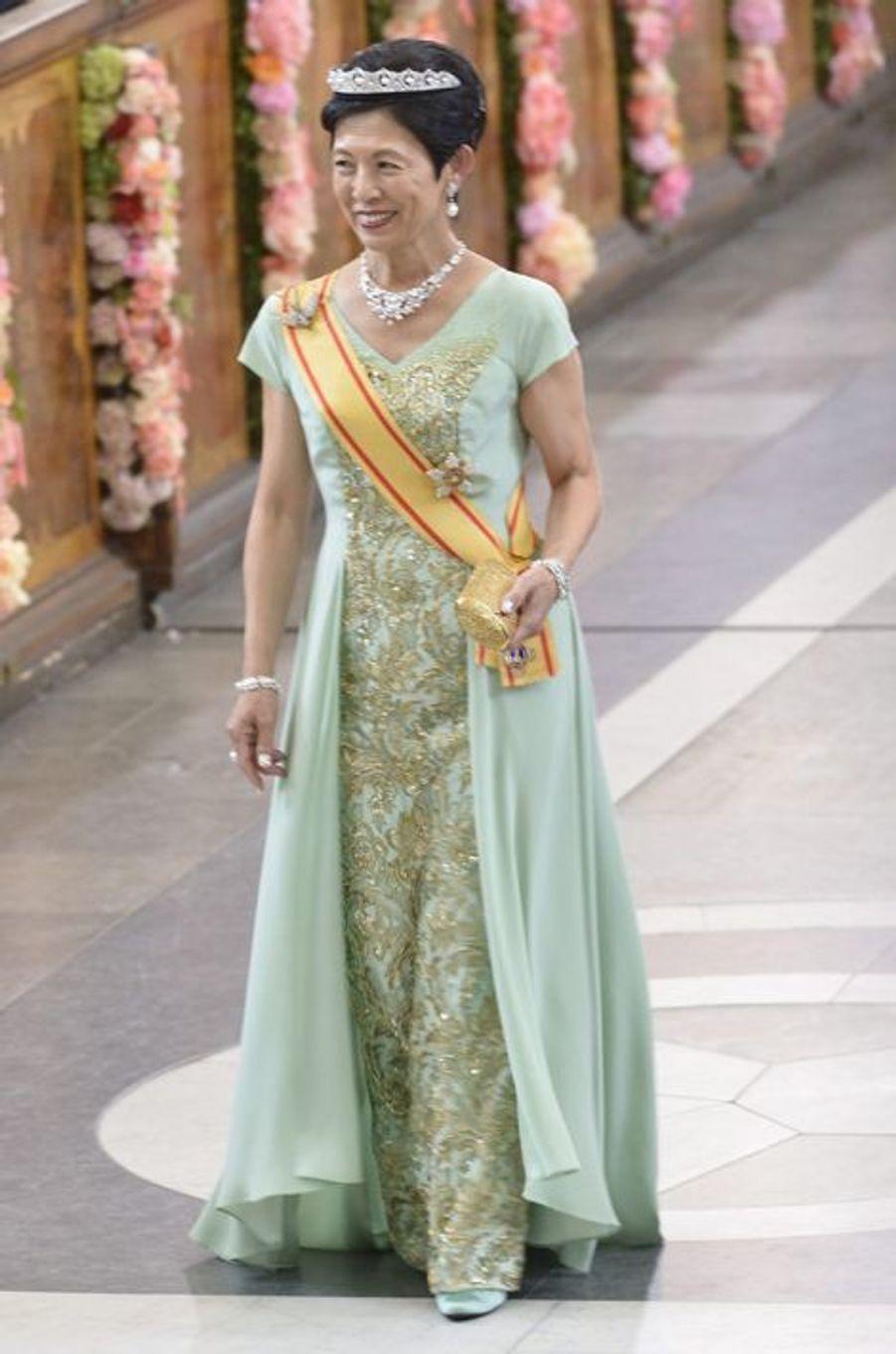 La princesse impériale Hisako de Takamado du Japon à Stockholm, le 13 juin 2015