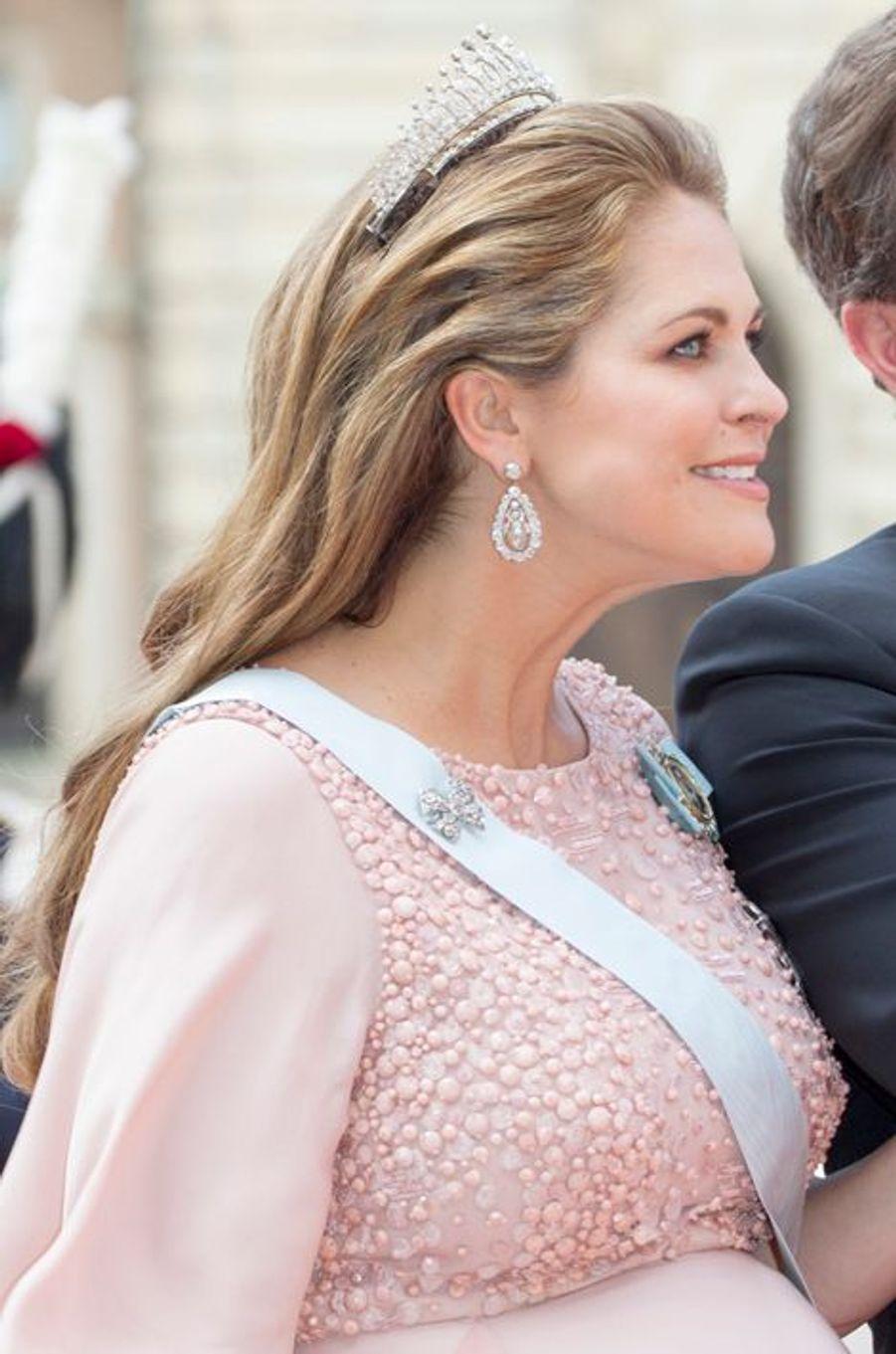 La princesse Madeleine de Suède à Stockholm, le 13 juin 2015