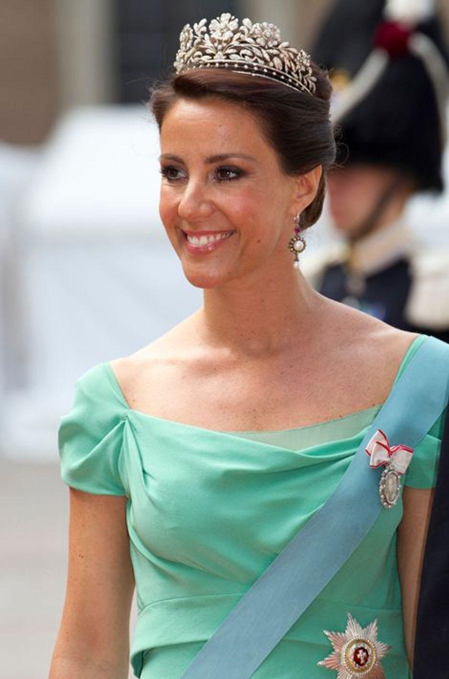 La princesse Marie de Danemark à Stockholm, le 13 juin 2015