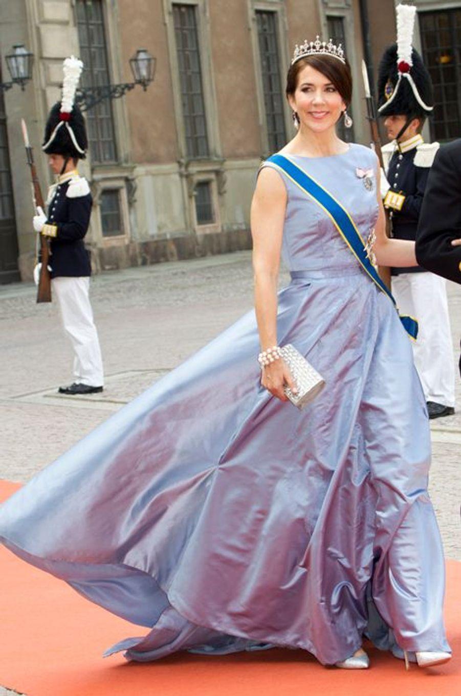 La princesse Mary de Danemark à Stockholm, le 13 juin 2015