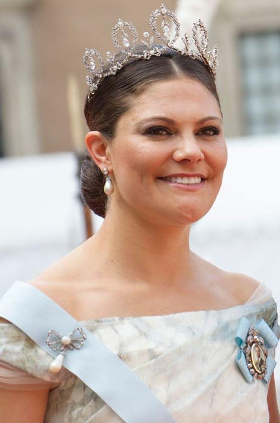 La princesse Victoria de Suède à Stockholm, le 13 juin 2015