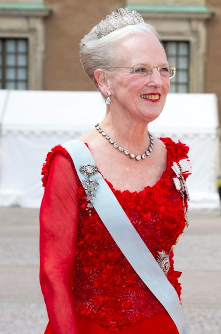 La reine Margrethe II de Danemark à Stockholm, le 13 juin 2015
