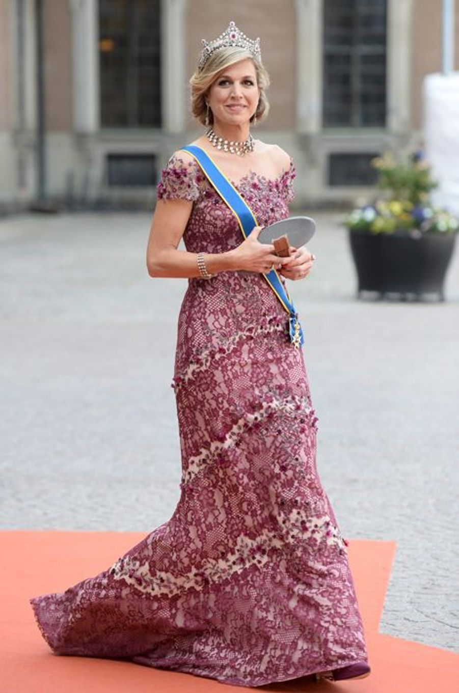 La reine Maxima des Pays-Bas à Stockholm, le 13 juin 2015