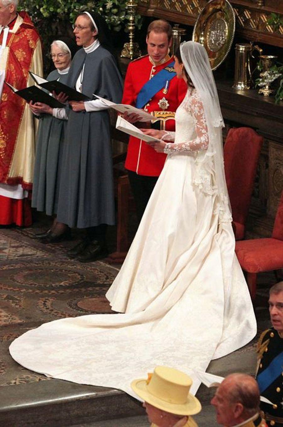 Kate épouse le prince William, duc de Cambridge, le 29 avril 2011