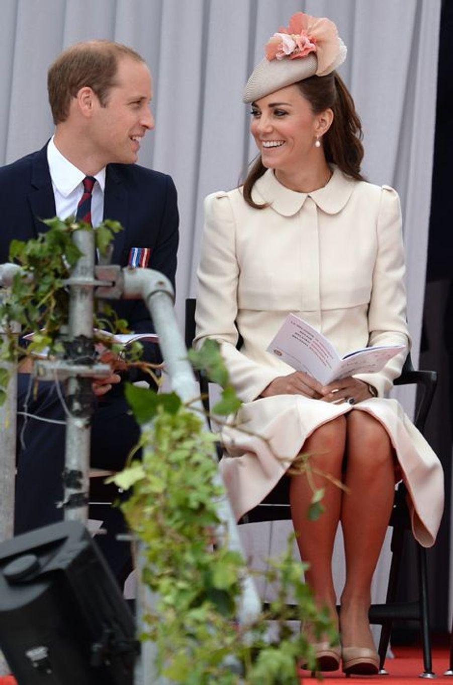 Kate et William, le 4 août 2014