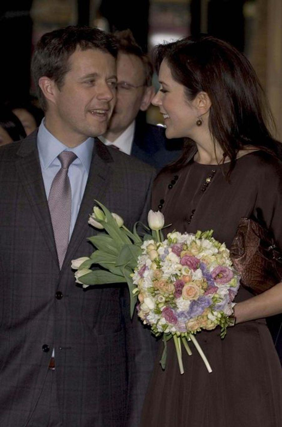 Mary et Frederik, le 19 mars 2010