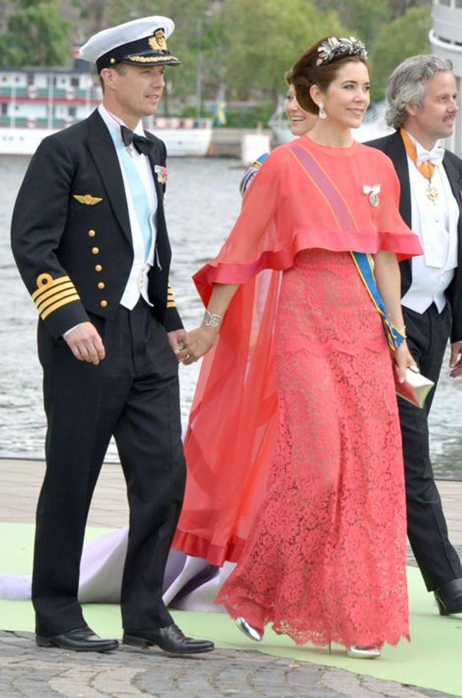 Mary et Frederik, le 8 juin 2013