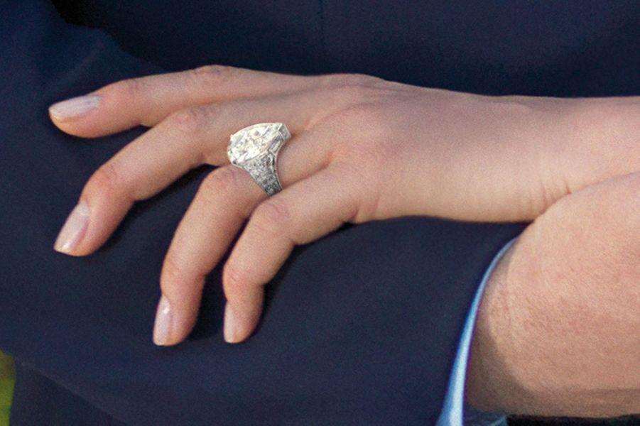 La bague de fiançailles de Charlène Wittstock, le 23 juin 2010