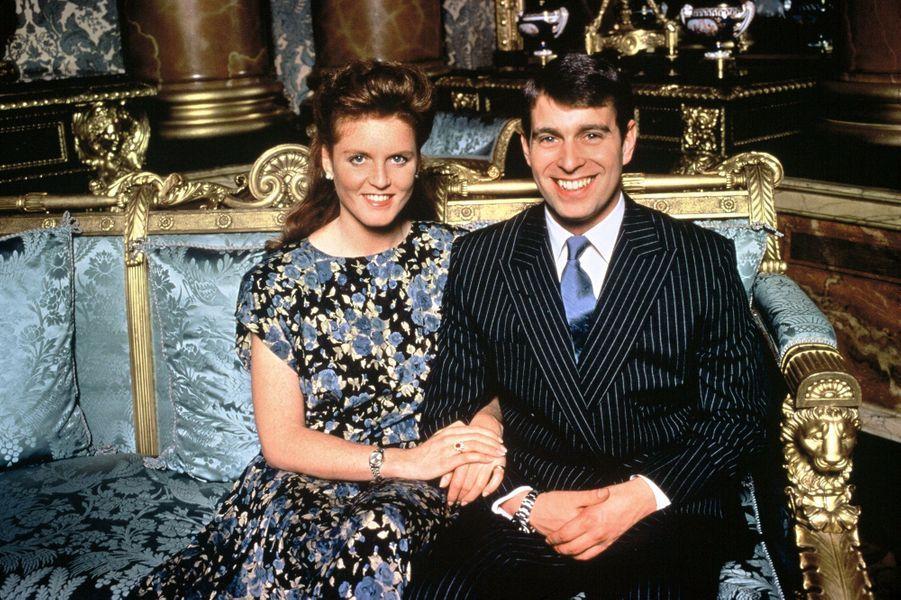 Le prince Andrew et Sarah Ferguson, en 1986
