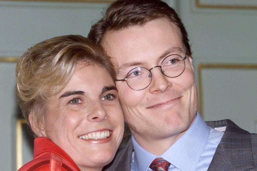 Le prince Constantijn des Pays-Bas et Laurentien Brinkhorst, le 16 décembre 2000