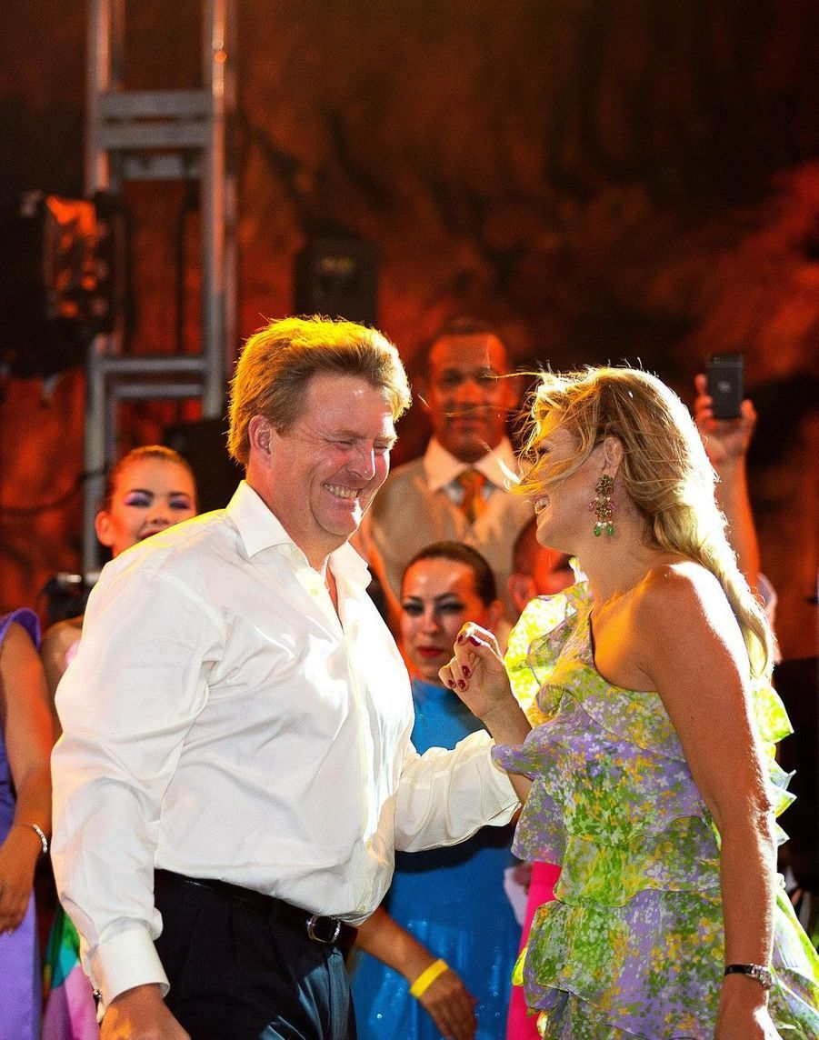 Maxima et Willem, en vedettes aux Antilles