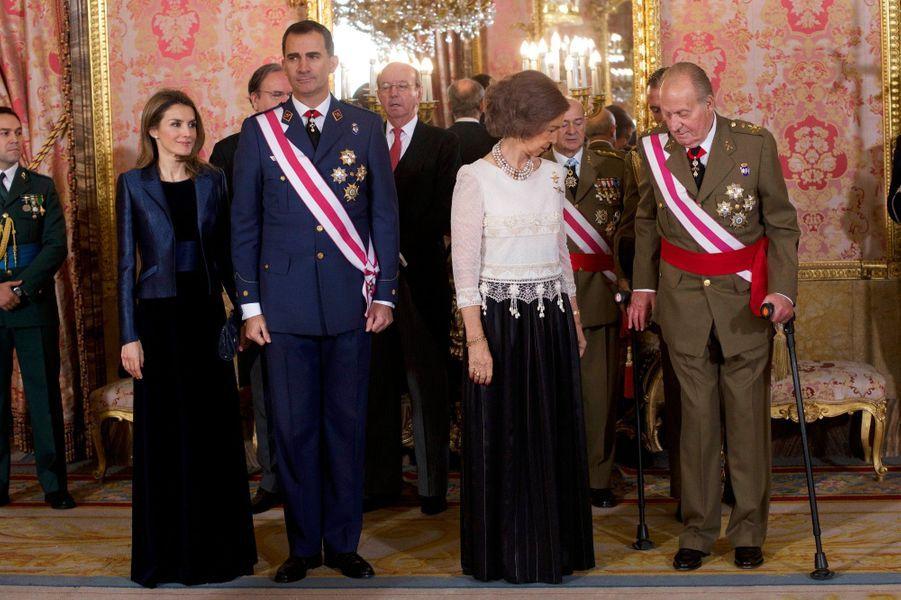 Letizia et Sofia, les reines de l'épiphanie