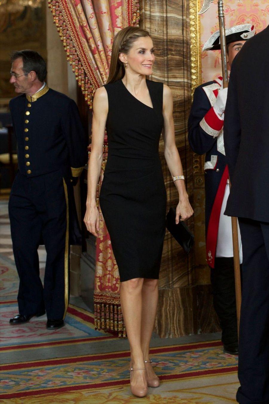 Letizia, toujours princesse, toujours sublime