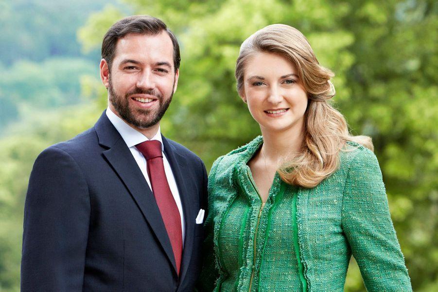 Les amoureux du Luxembourg prennent la pose