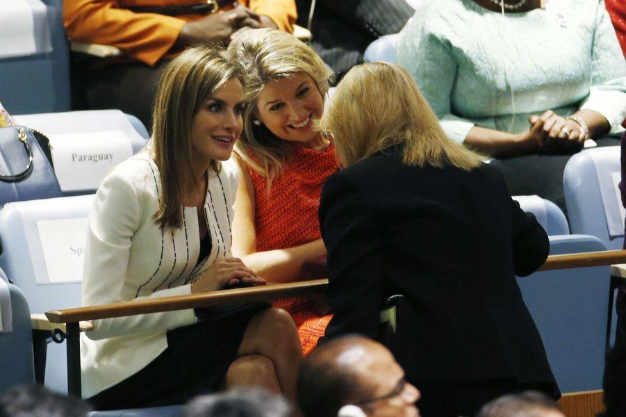 Letizia et Maxima, les reines des nations unies