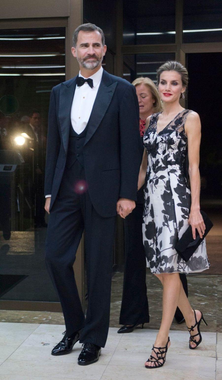 Letizia et Felipe, premier prix d'élégance