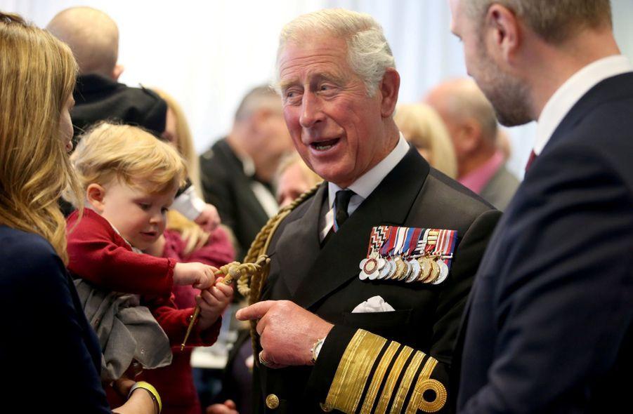 Le prince Charles de Galles, héritier du Royaume-Uni, fêtera ses 70 ans le 14 novembre 2018.
