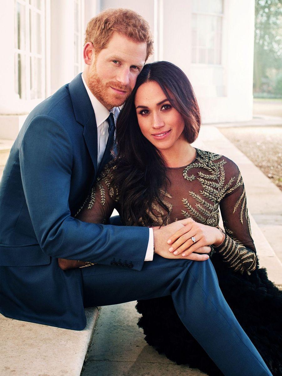 Le prince Harry doit épouser sa fiancée américaineMeghan Marklele 19 mai 2018, lors d'une cérémonie au château de Windsor.
