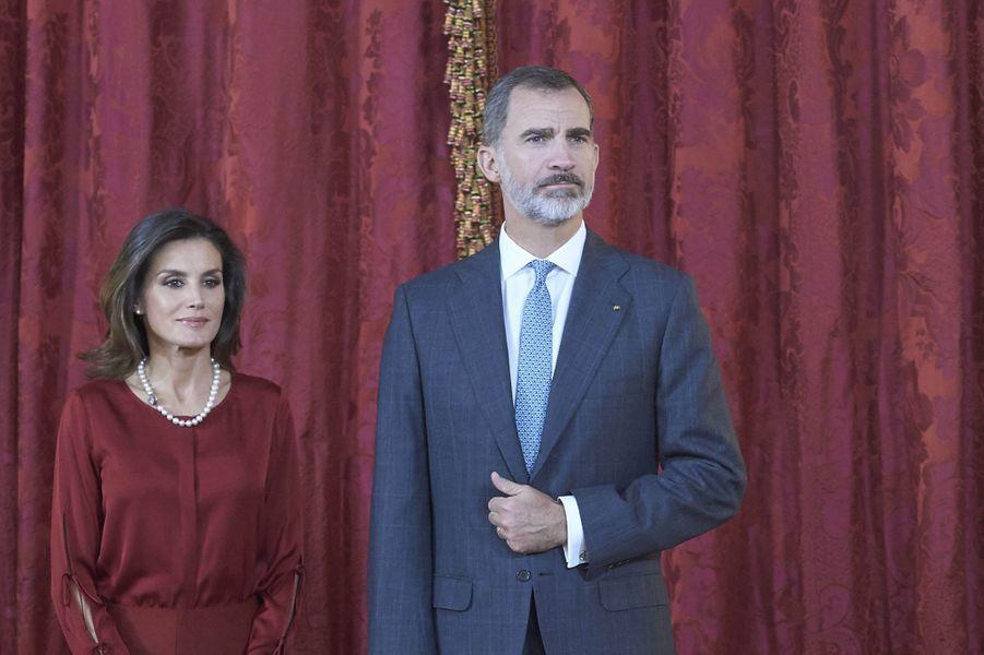 2019 - 15 ans de mariage pour le roi Felipe VI d'Espagne et la reine Letizia