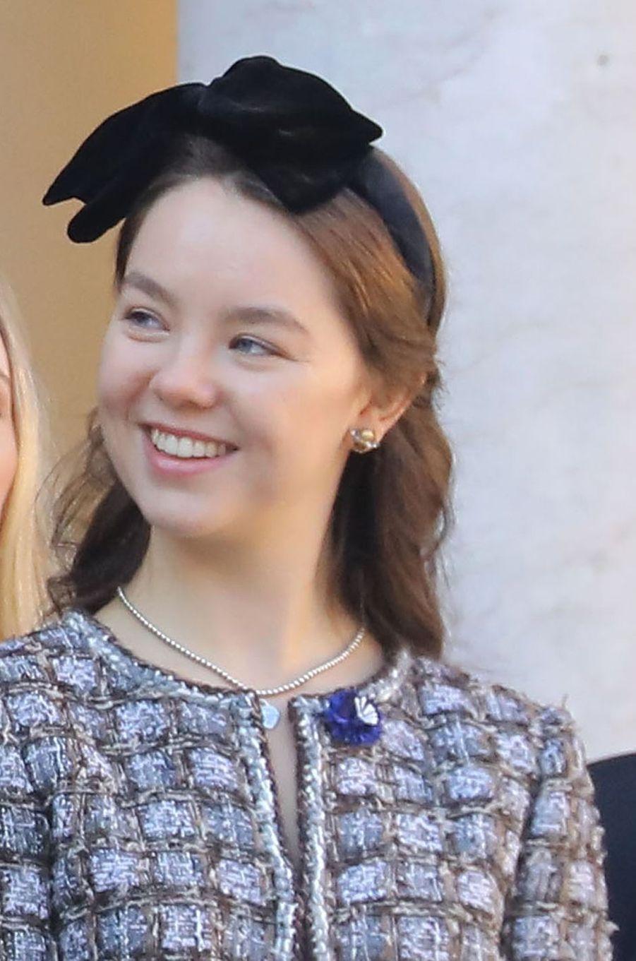 2019 - 20 ans de la princesse Alexandra de Hanovre, plus jeune fille de Caroline de Monaco