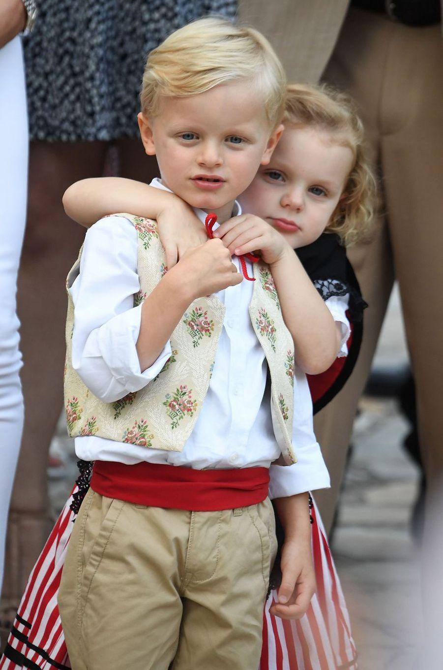 2019 - 5 ans du prince Jacques et de la princesse Gabriella de Monaco