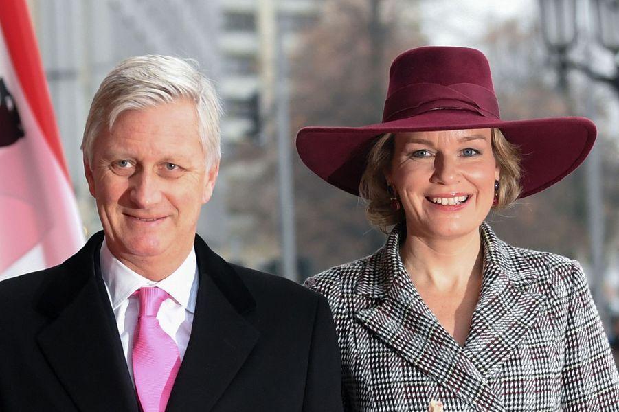 2019 - 20 ans de mariage pour le roi des Belges Philippe et la reine Mathilde