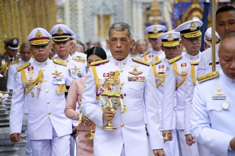 2019 - couronnement du roi de Thaïlande Maha Vajiralongkorn (Rama X)