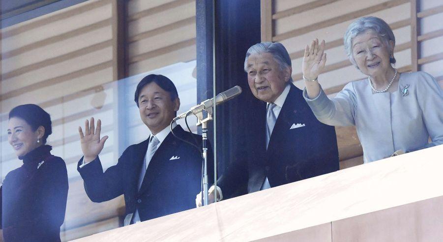 2019 - 60 ans de mariage pour l'impératrice Michiko et l'empereur Akihito du Japon, qui doit en outre abdiquer au profit de son fils le prince Naruhito