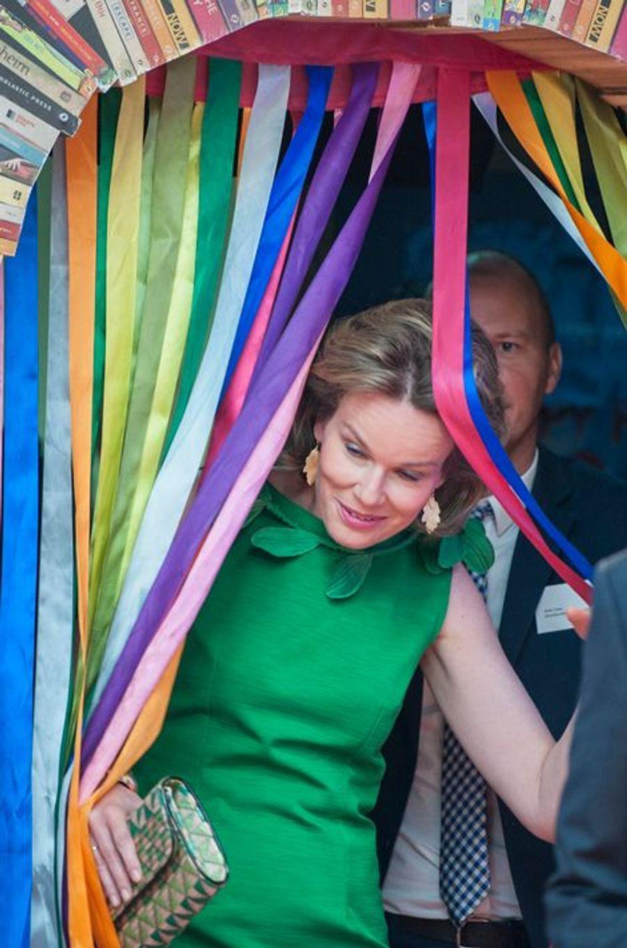 Le roi des Belges Philippe et la reine Mathilde ont effectué ce jeudi 28 mai une visite à la VRT, la chaîne de télévision publique flamande.Chaque dimanche, le Royal Blog de Paris Match vous propose de voir ou revoir les plus belles photographies de la semaine royale.