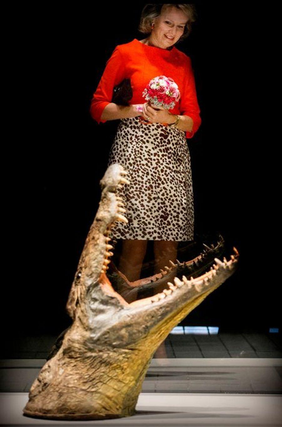 Ce mardi 17 novembre, Mathilde de Belgique avait un rendez-vous culturel à son programme. La reine des Belges était près de Mons, où elle a découvert une exposition traitant de Saint-Georges et du dragon.Chaque dimanche, le Royal Blog de Paris Match vous propose de voir ou revoir les plus belles photographies de la semaine royale.