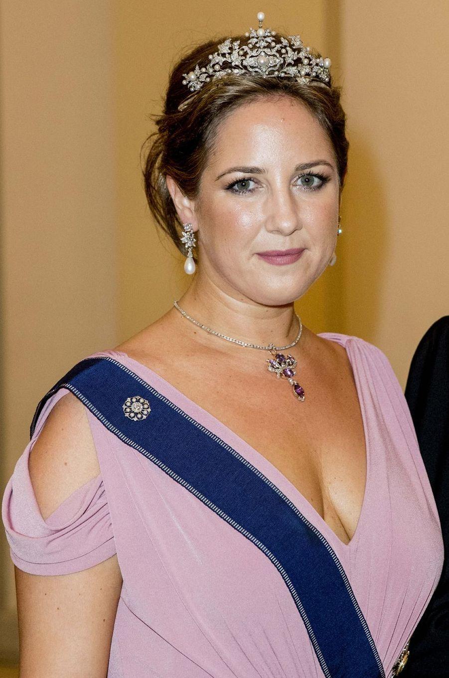La princesse Theodora de Grèce (ici le 27 mai 2018) va se marier en 2020