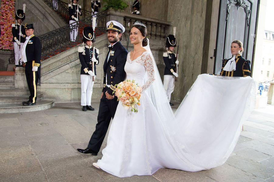 Le prince Carl Philip de Suède et Sofia Hellqvist (ici le 13 juin 2015) vont fêter en 2020 leurs 5 ans de mariage