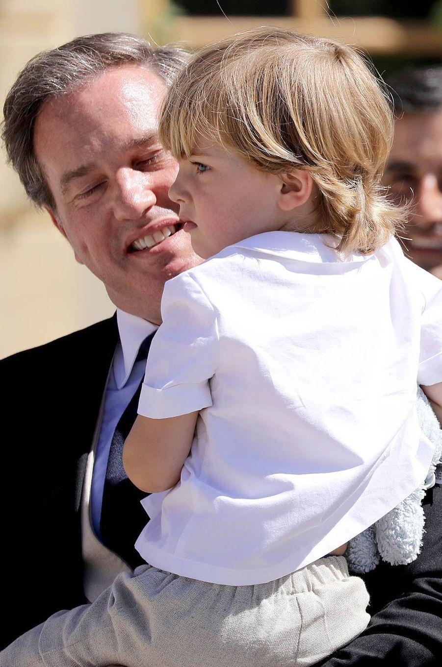 Le prince Nicolas de Suède (ici le 8 juin 2018) va fêter ses 5 ans en 2020