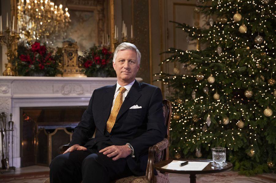 Le roi des Belges Philippe (ici le 18 décembre 2019) va fêter ses 60 ans en 2020