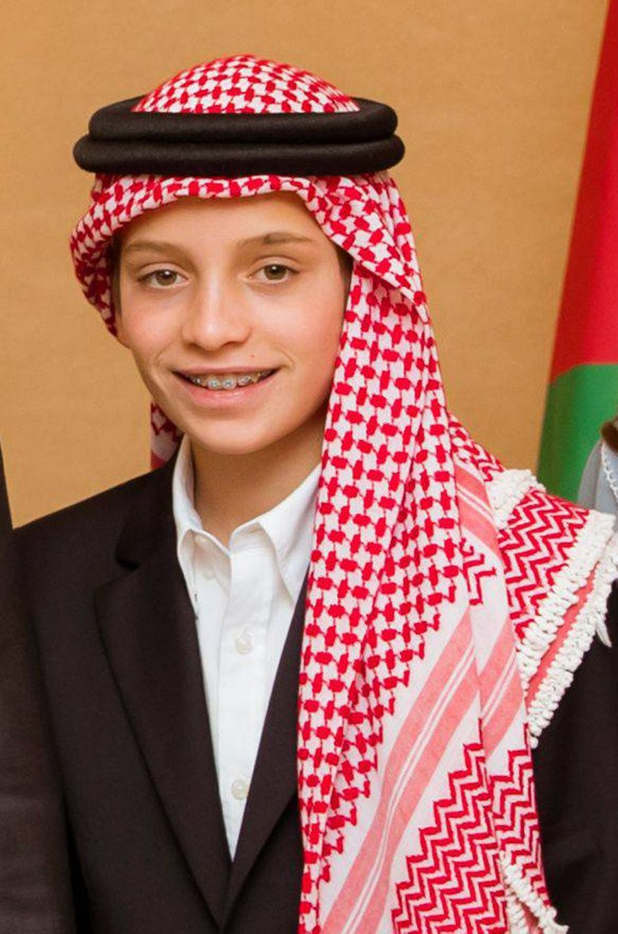 Le prince Hashem de Jordanie (ici le 25 mai 2019) va fêter ses 15 ans en 2020