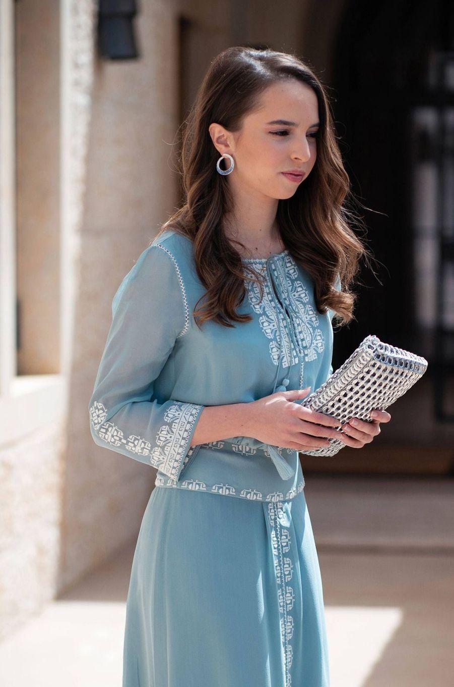 La princesse Salma de Jordanie (ici le 25 mai 2019) va fêter ses 20 ans en 2020