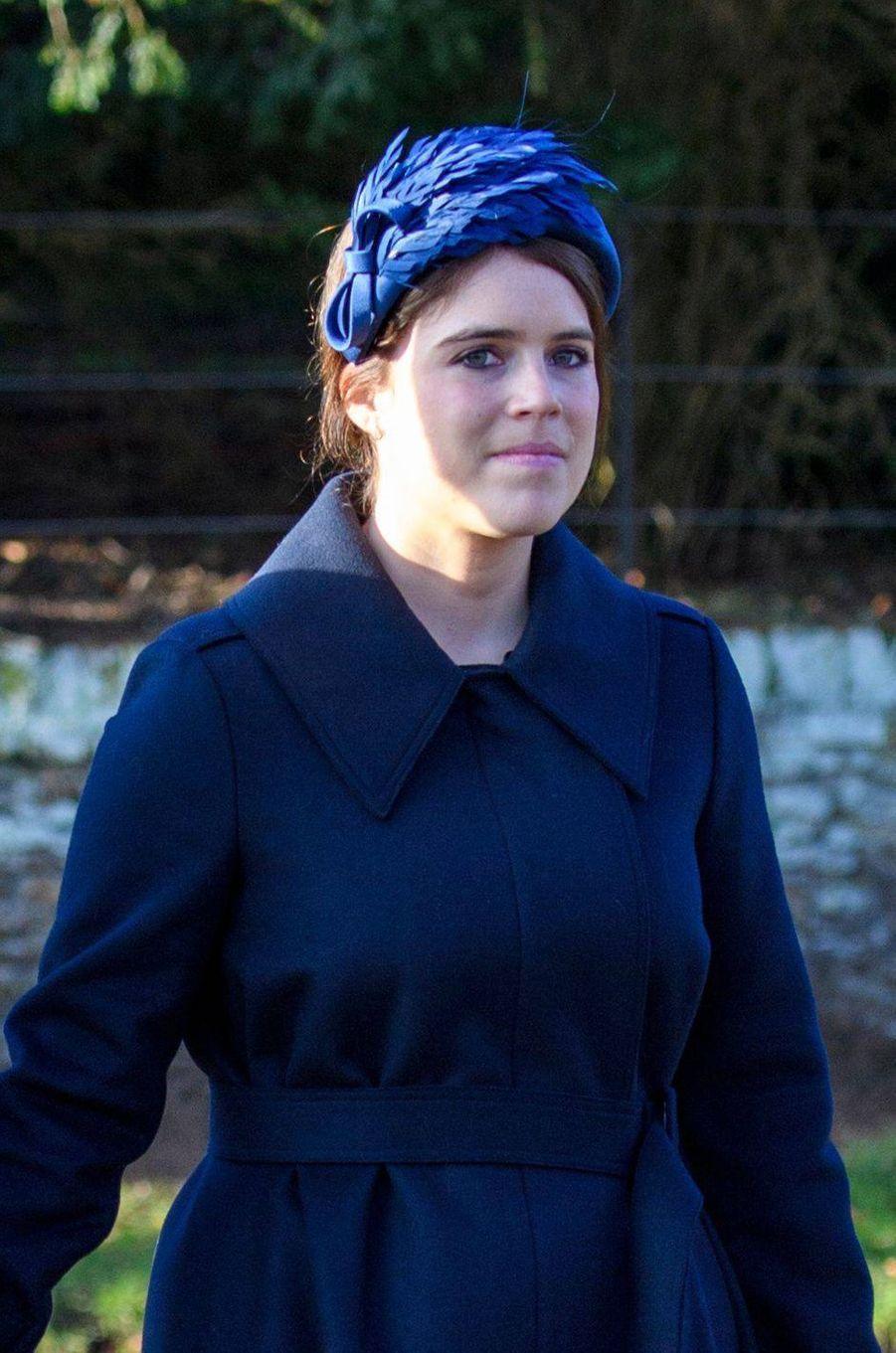 La princesse Eugenie d'York (ici le 25 décembre 2019) va fêter ses 30 ans en 2020