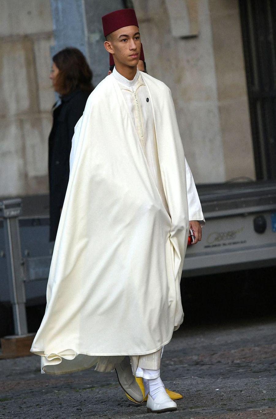 Le prince héritier Moulay El Hassan du Maroc(ici le 30 septembre 2019) va fêter ses 18 ans en 2021