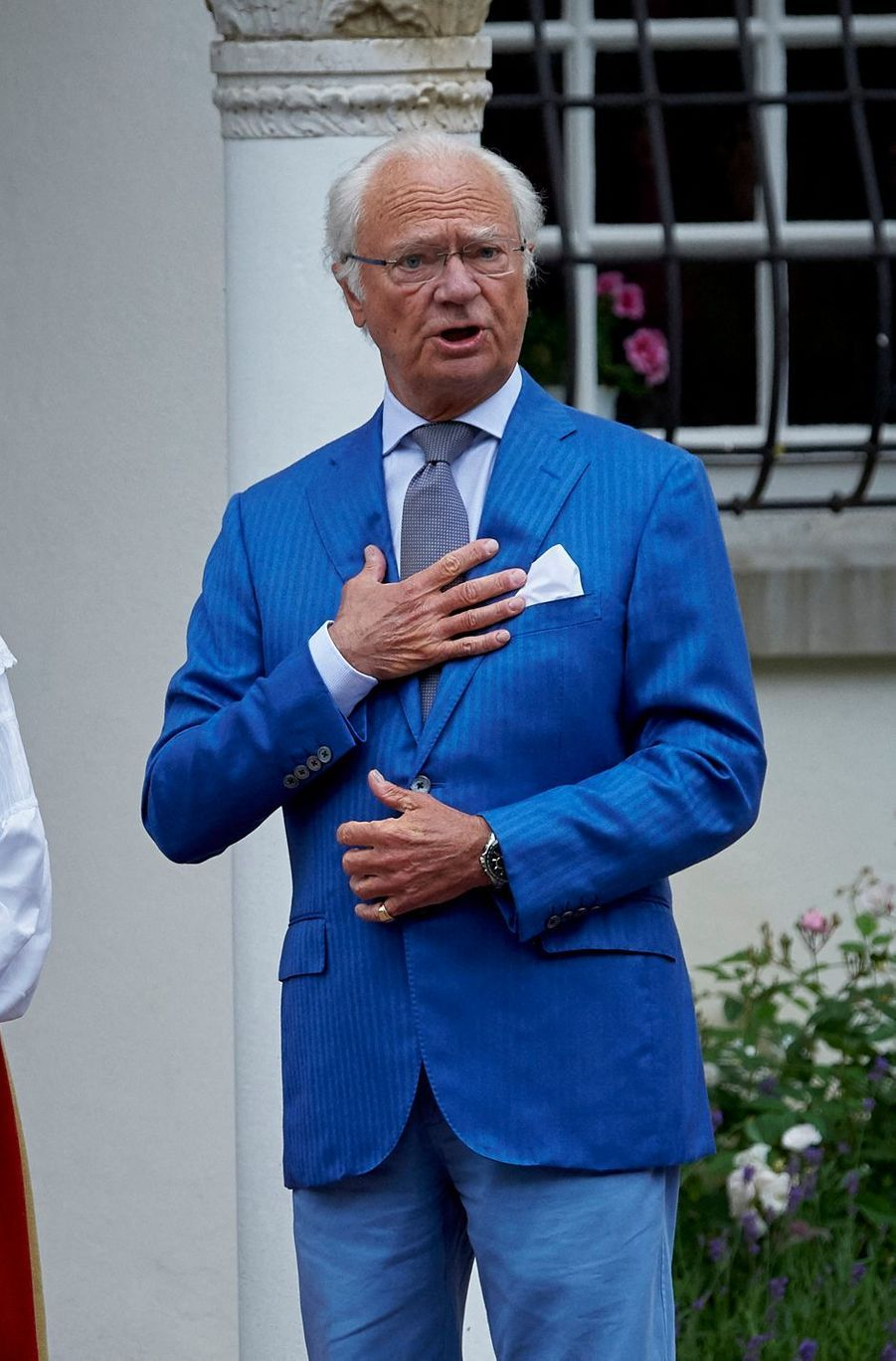 Le roi Carl XVI Gustaf de Suède (ici le 10 juillet 2020) va fêter ses 75 ans en 2021