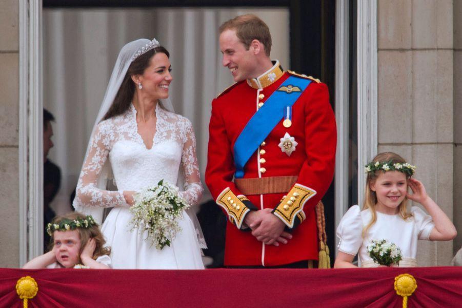 Le prince William et Kate Middleton (ici le 29 avril 2011) vont fêter leurs 10 ans de mariage