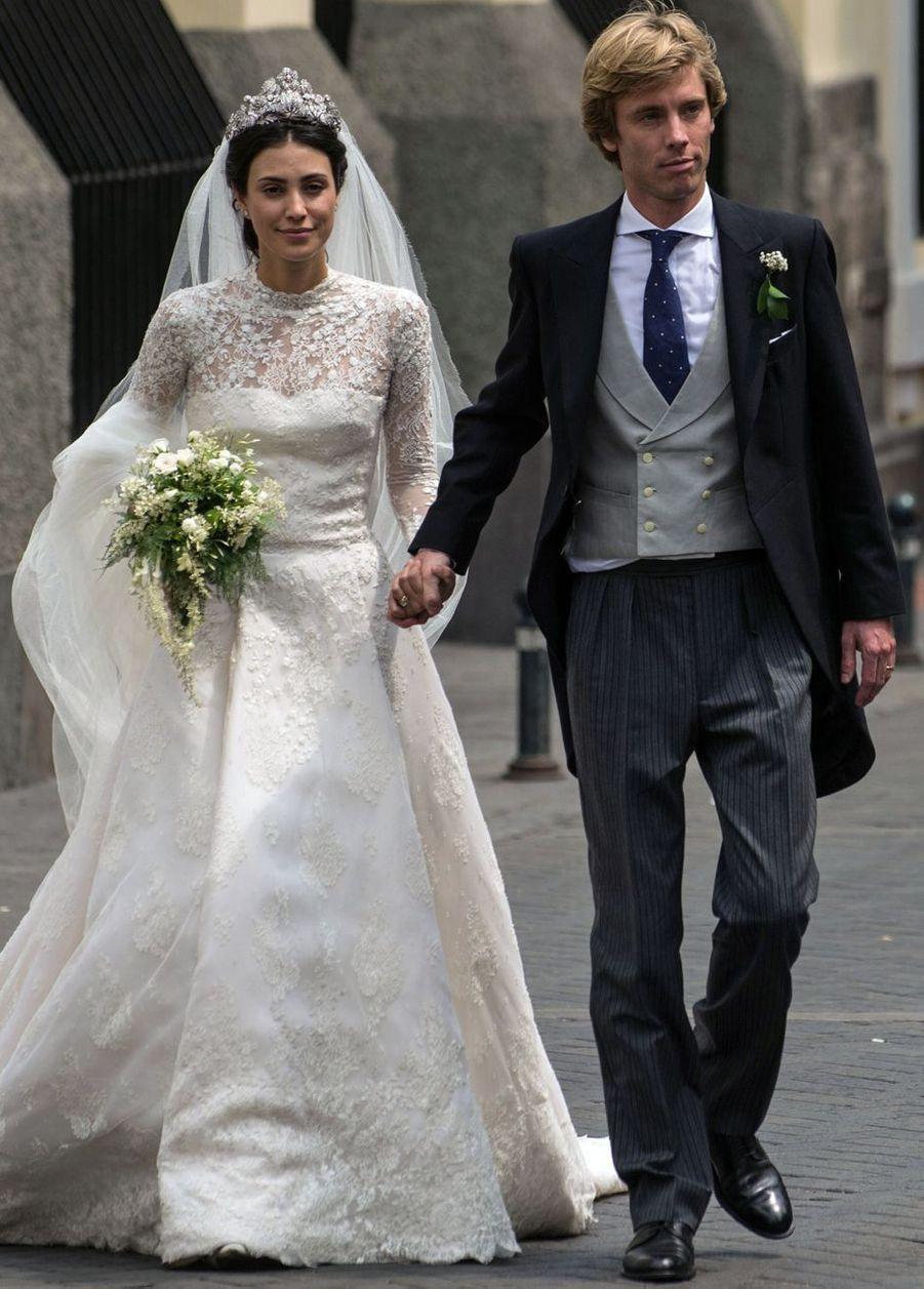 Le mariage du prince Christian de Hanovre et d'Alessandra de Osma, le 16 mars 2018