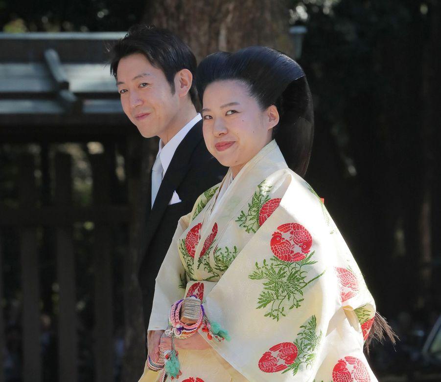 Le mariage de la princesse Ayako du Japon et de Kei Moriya, le 29 octobre 2018