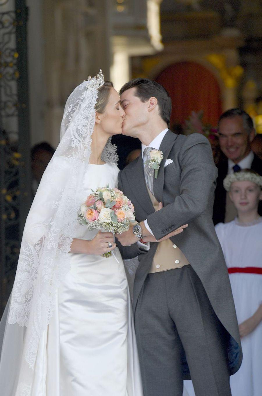 Le mariage de la comtesse Sophie de Wurtemberg et du comte Maximilien d'Andigné, le 20 octobre 2018