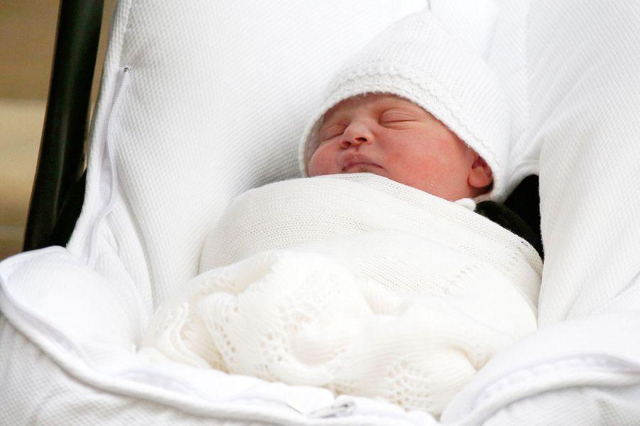 Le prince Louis de Cambridge, le jour de sa naissance, le 23 avril 2018