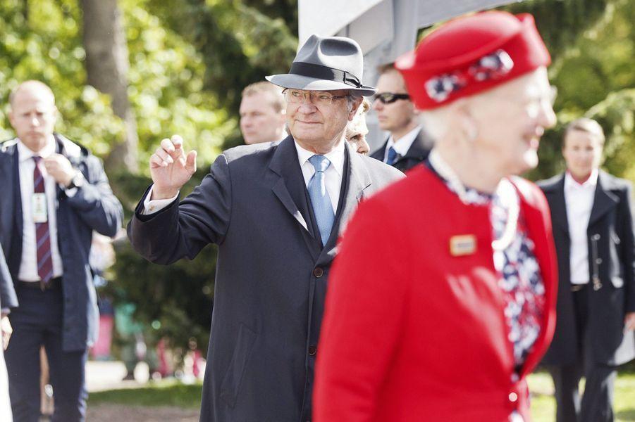 Le roi Carl XVI Gustaf de Suède à Helsinki, le 1er juin 2017